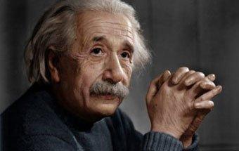 Albert Einstein, creatividad y buen humor