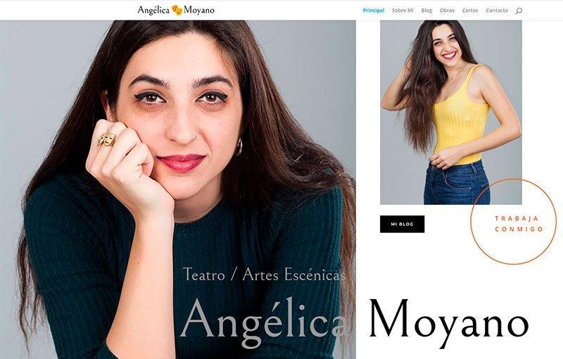 Web Angélica Moyano