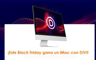¡Este Black Friday gana una iMac con DIVI!